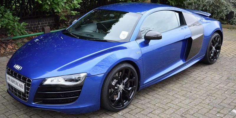 Audi r8 v10 060 time 8